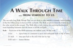Panel 01: A Walk Through Time…From Stardust To Us by Sid Liebes, Laurie Mittelstadt, Barbara Waugh, and Lois Brynes