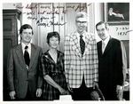 Baucus family with George Mahon by Creator unknown