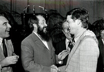 Max Baucus and Aleksandr Solzhenitsyn by Creator unknown