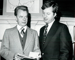 Robert Byrd and Max Baucus by Creator unknown