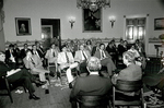 Senate Committee on Finance meeting at White House by Creator unknown