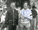 Max Baucus and Thomas Judge at the Governors Cup by Creator unknown
