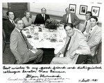 Sandra Day O'Connor, Strom Thurmond with members of the Senate Committee on the Judiciary by Creator unknown