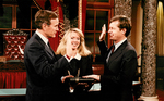 Max Baucus taking the oath of office by Creator unknown