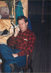 Max Baucus at Rocky Mountain Log Homes by Creator unknown