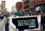 Max Baucus in St. Patrick's Day Parade by Creator unknown