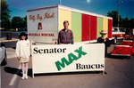 Max Baucus at Missoula Carousel Parade by Creator unknown