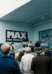 Max Baucus announcing 1996 campaign by Creator unknown