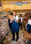 Max Baucus at Buttrey's Grocery store workday by Creator unknown