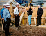 Max Baucus and others at Ground Zero by Creator unknown
