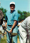 Max Baucus at groundbreaking for Fort Peck Fish Hatchery by Creator unknown