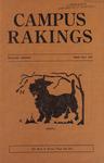 Campus Rakings, 1929 by Theta Sigma Phi. Kappa chapter (University of Montana)