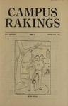 Campus Rakings, 1931 by Theta Sigma Phi. Kappa chapter (University of Montana)
