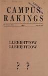 Campus Rakings, 1937 by Theta Sigma Phi. Kappa chapter (University of Montana)
