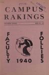 Campus Rakings, 1940