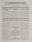 Communique, 1968-1969 by University of Montana--Missoula. School of Journalism