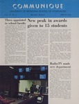 Communique, 1969-1970 by University of Montana--Missoula. School of Journalism