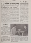 Communique, Fall 1963 by University of Montana--Missoula. School of Journalism