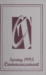 College of Technology Spring Commencement Program, 1995