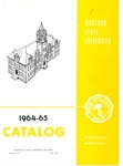 1964-1965 Course Catalog