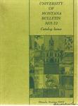 1971-1972 Course Catalog