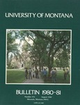 1980-1981 Course Catalog
