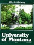 1984-1985 Course Catalog