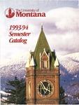 1993-1994 Course Catalog