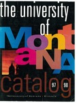 1997-1998 Course Catalog by University of Montana--Missoula. Office of the Registrar