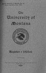1905-1906 Course Catalog