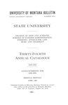 1928-1929 Course Catalog