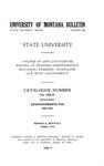 1929-1930 Course Catalog