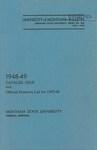 1948-1949 Course Catalog