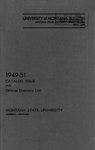 1949-1951 Course Catalog