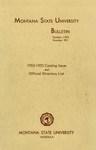 1953-1955 Course Catalog