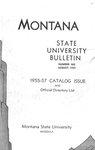 1955-1957 Course Catalog