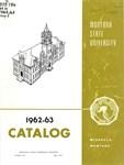 1962-1963 Course Catalog