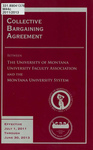 University Faculty Association Collective Bargaining Agreement, 2011-2013