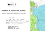 B. Bathymetry and Survey Line Locations