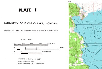 Flathead Lake Seismic Survey Image And Data Files And Articles