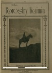 Forestry Kaimin, 1922, Number 1