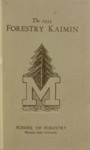 Forestry Kaimin, 1933 by Forestry Student Association