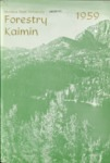 Forestry Kaimin, 1959 by Forestry Student Association