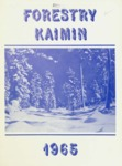 Forestry Kaimin, 1965 by Forestry Student Association