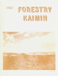 Forestry Kaimin, 1967 by Forestry Student Association