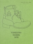 Forestry Kaimin, 1978 by Forestry Student Association