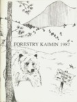 Forestry Kaimin, 1987 by Forestry Student Association