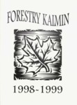 Forestry Kaimin, 1998-1999 by Forestry Student Association