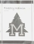 Forestry Kaimin, 2012-2013 by Forestry Student Association