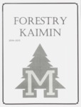 Forestry Kaimin, 2014-2015 by Forestry Student Association